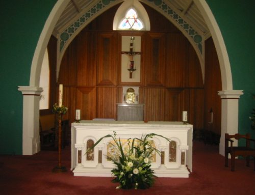Blog1: The Church of St. Colmcille, Churchtown South, East County Cork, Ireland